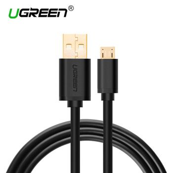 Ugreen Micro USB Cable 2A Fast Charger USB Data Cable Mobile Phone Charging Cable for Samsung Xiaomi Huawei Android Tablet Cable  Price: 3.53 USD