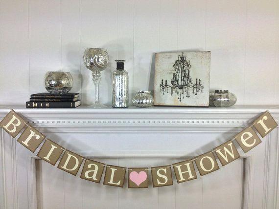 Bridal Shower Banner  Bridal Shower Decorations  by ABannerAffair, $24.00