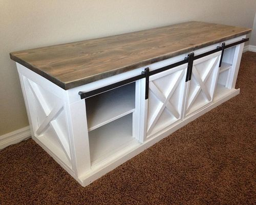 17 best ideas about barn door tables on pinterest coffee table sets barn table and diy dining. Black Bedroom Furniture Sets. Home Design Ideas