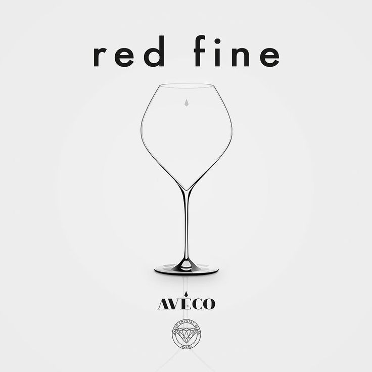 RED FRIDAY! Like finer red wines? Meet Red Fine made out of 100% crisp crystal. Her wide tulip shape brings out the best from finer red wines. Follow us for more wine lifestyle!