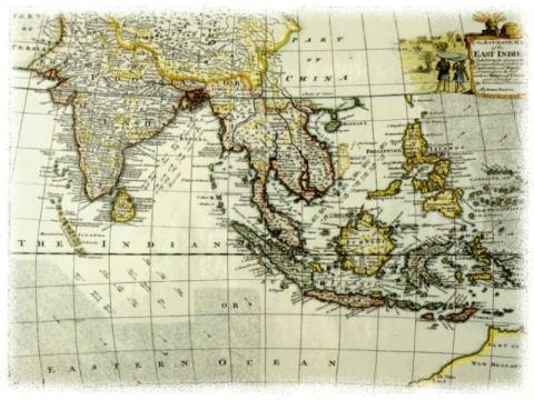 an old south east asia map