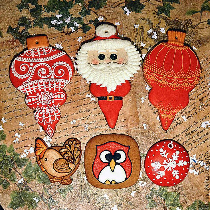 """Купить Пряники новогодние. Пряники новогодние """"Игрушки елочные"""" - пряники новогодние, пряники новый год"""