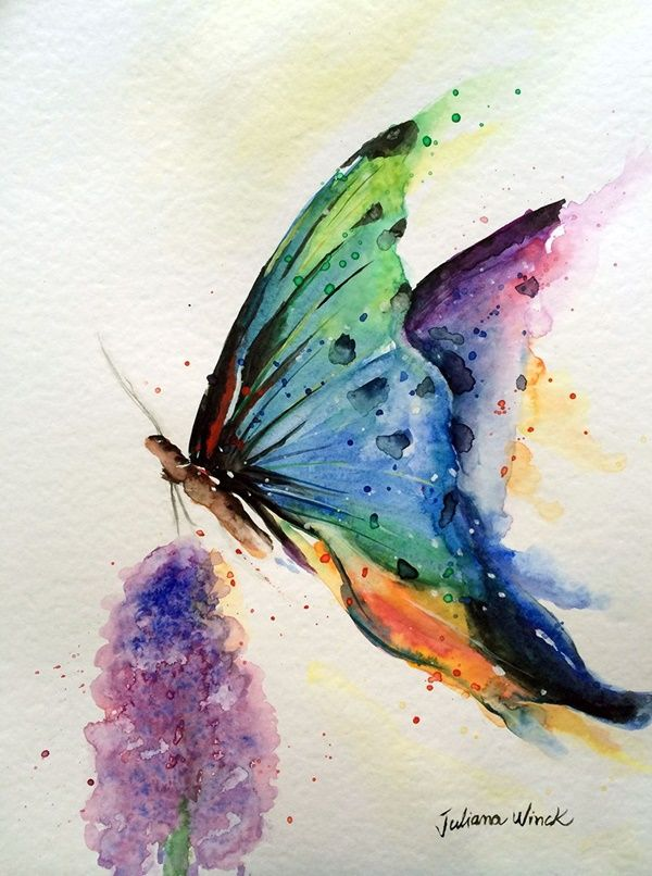 42 Simple Watercolor Painting Ideas For Beginners In 2020