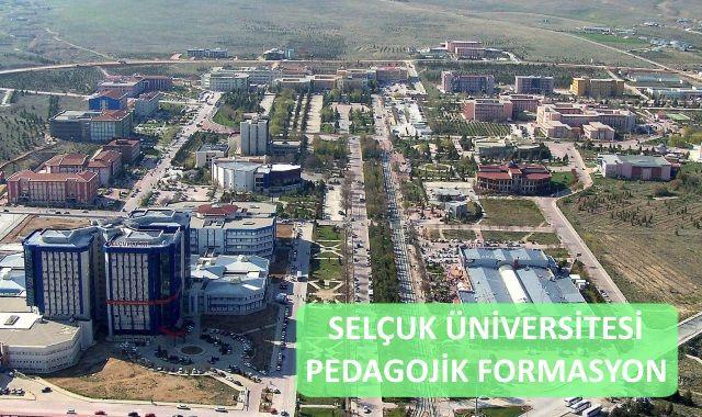 Selçuk Üniversitesi Pedagoik Formasyon