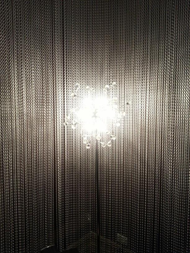 Lamp inside oamaru opera House