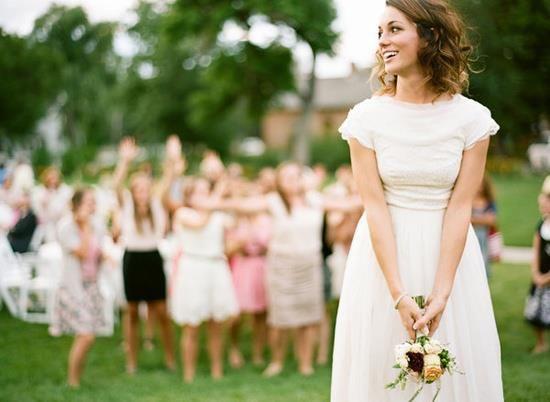 Lancio del bouquet, scegliere il momento e il modo giusto