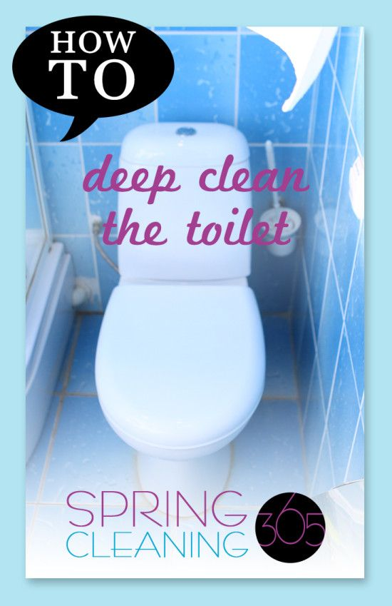Toilets are gross. That's why they should be cleaned on a regular basis. But we all know that doesn't always happen.    So every once in a while, we need to give those toilets a really, really good scrubbing.