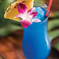 "Blue Hawaiian Mocktail | ""This is one of my all-time favorite mixed drinks!"" – Kim"