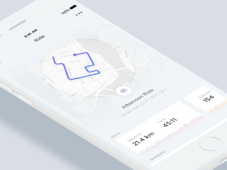 Activity Tracking App / UI Challenge — Week 09 by Andrej Radisic