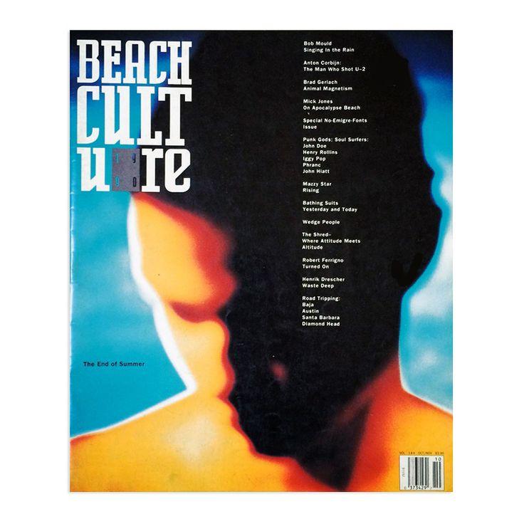 beach culture magazine october 1990