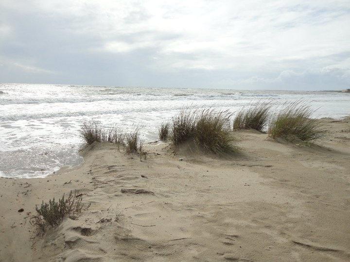 Justo en el punto en el que la tierra conoce al mar. El Portil, Huelva.
