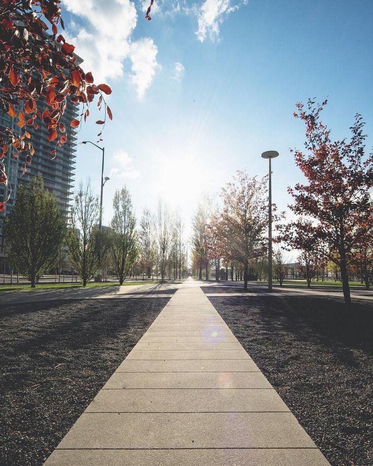 A beautiful Fall day at Sheridan HMC.