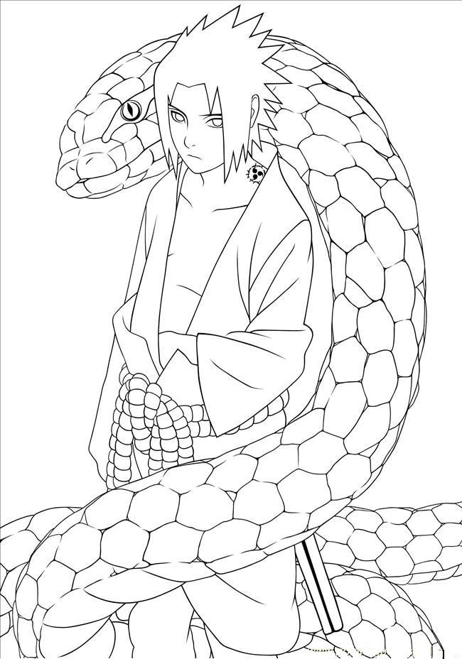 49 best Naruto Coloring Pages images