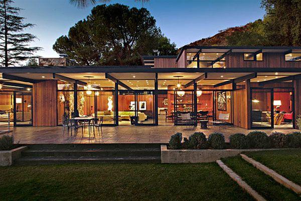 jamie bush mid-century modern house home interior of La Cañada.