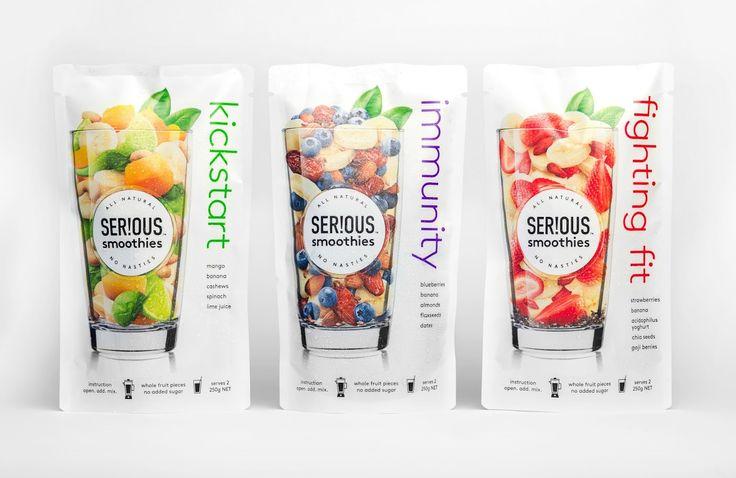 SER!OUS (fruits congelés pour smoothies) I Design : Curious Design, Auckland, Nouvelle-Zélande (septembre 2016)