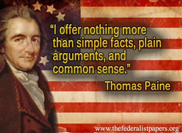 Image result for common sense by thomas paine