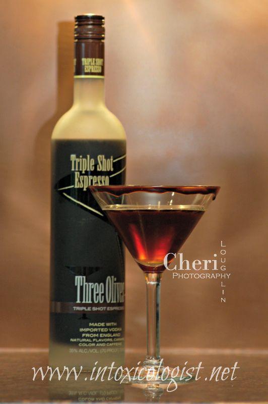 Three Olives Espresso Vodka Drinks