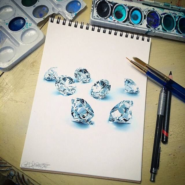 awesome drawing diamonds_by ; @xoramos661