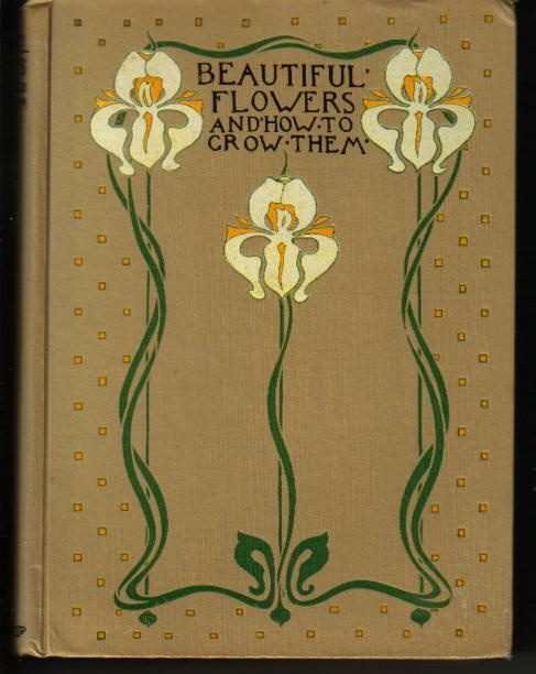Beautiful flowers & how to grow them - Art Nouveau Iris