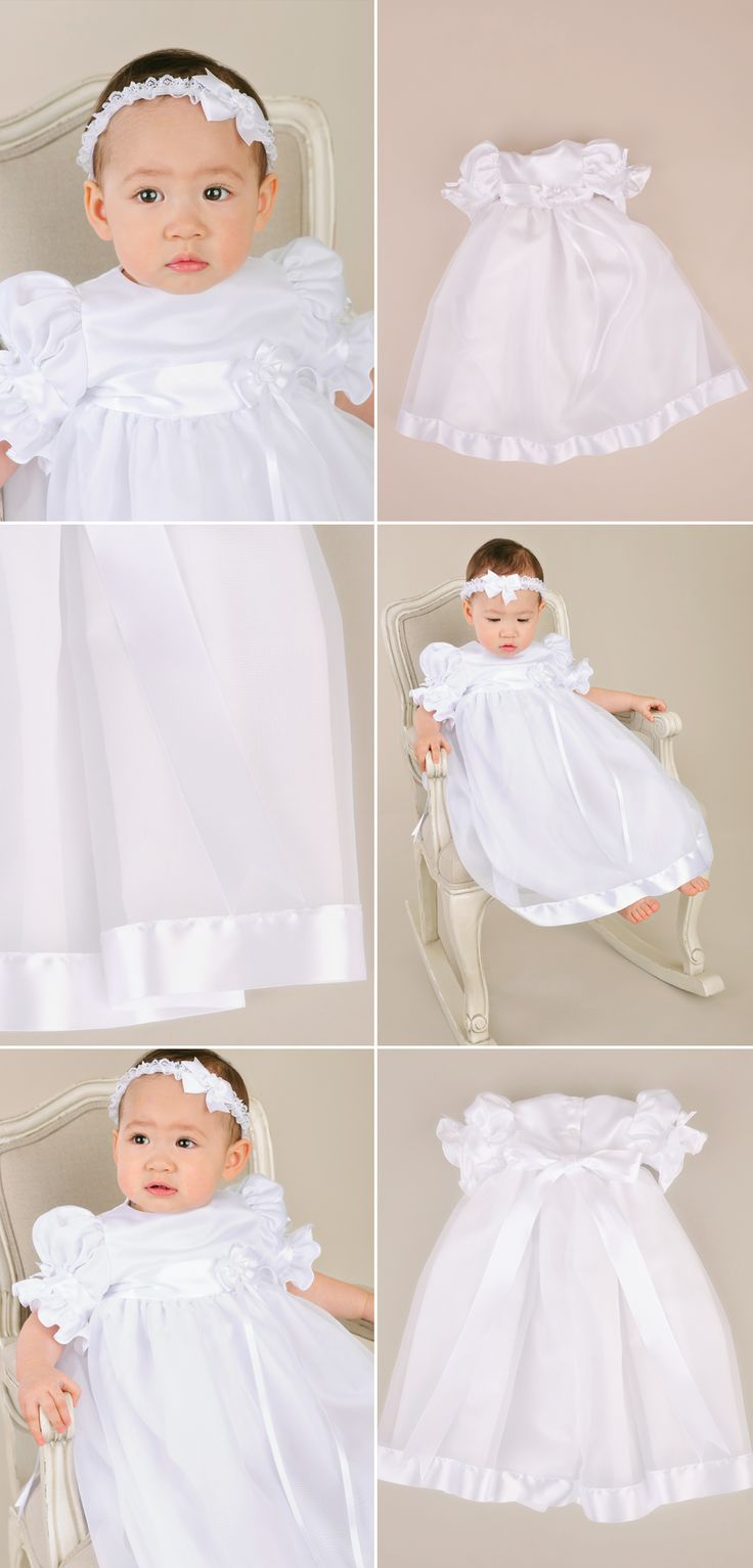 17 Best images about Girl s Baptism Dresses on Pinterest