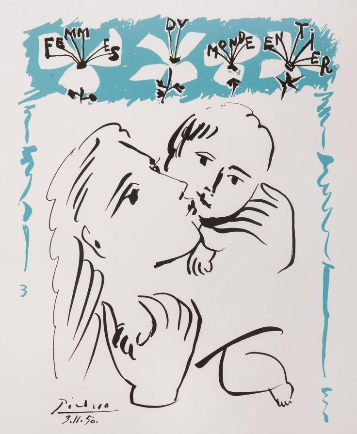 Aukció: 2016. december 14.: Picasso, Pablo; Femmes du Monde, 1983; színes litográfia, papír