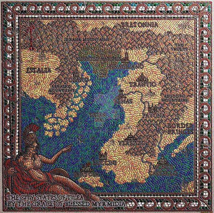 Tilea Mosiac by Hapimeses 14 best Atlantis