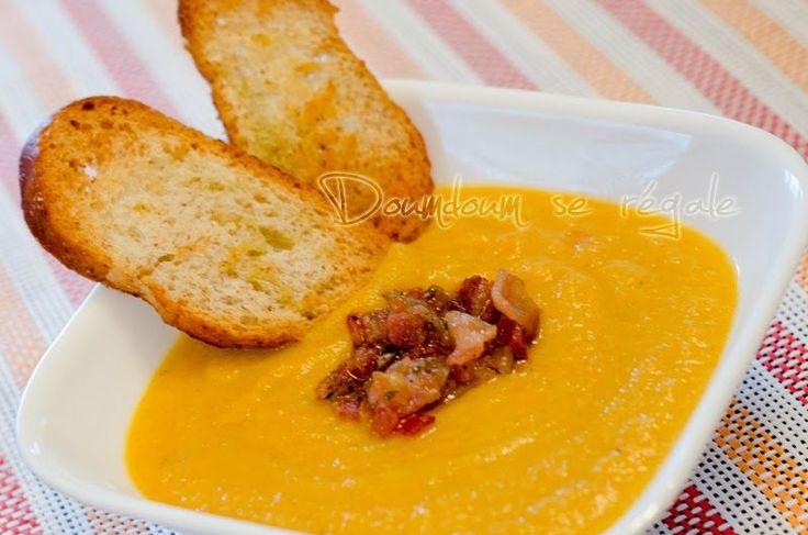 Avec l'arrivée de l'automne et le début des température plus froides, on recommence à cuisiner de bons potages. En voici un très simple...