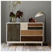 Pieced and Patched: Westelm, Ideas, Patchwork Dresser, Dressers, House, Furniture, Bedroom, West Elm, Patchworkdresser