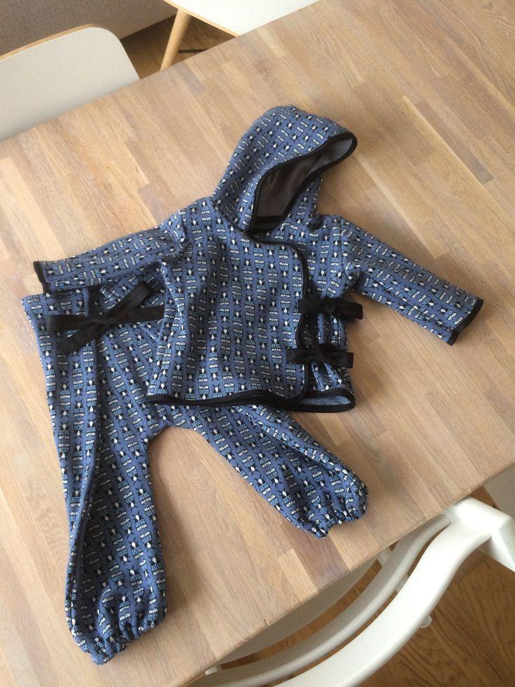 Dress av ekologiskt stickat tyg. Mönster från Stoff & Stil.