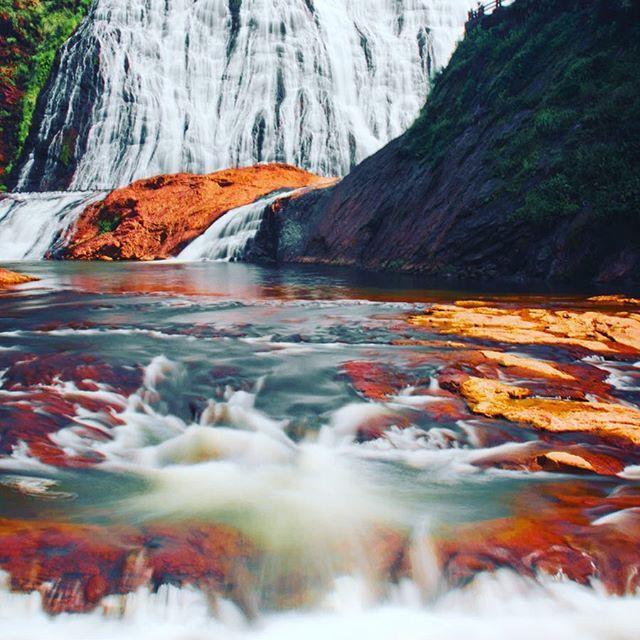 Jiulongji waterfall. #travel #traveling #TagsForLikes #TFLers #vacation #visiting #instatravel #instago #instagood #trip #holiday #photooftheday #fun #travelling #tourism #tourist #instapassport #instatraveling #mytravelgram #travelgram #travelingram #igtravel #waterfall