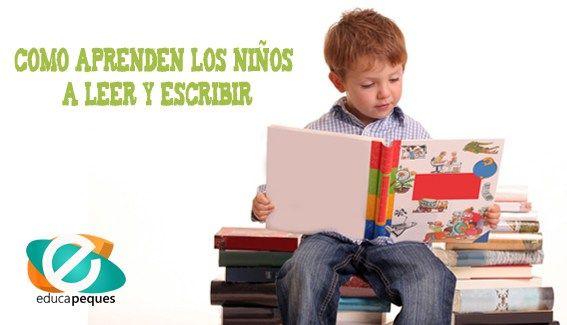 Como aprenden los niños a leer y escribir. Pautas para fomentar estos aprendizajes