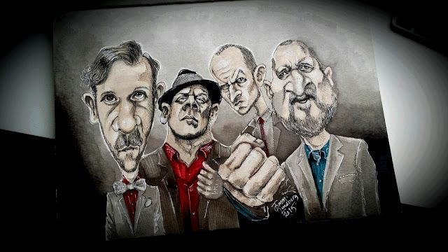 Karikaturisti: Ricky-Tic Big Band ja Julkinen Sana
