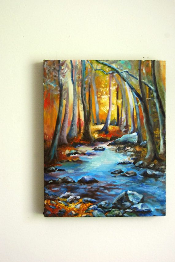 Oil Painting on Canvas Landscape 11x14 520