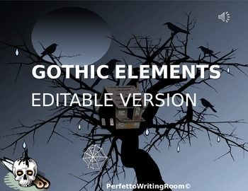 gothic elements found in literature english literature essay (results page 3) view and download gothic literature essays examples also discover topics, titles, outlines, thesis statements, and conclusions for your gothic literature essay.