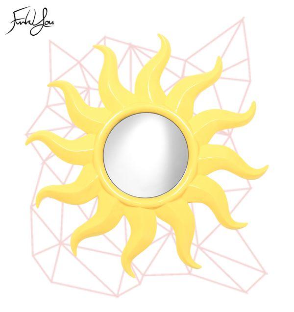Solaris Mirror Yellow.   www.funkyou.com.au