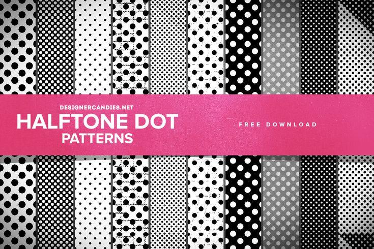 #Ressources - Halftone Dot Patterns