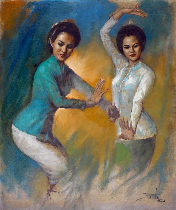 Dancing Indonesian girls #Art #Indonesian http://livestream.com/livestreamasia