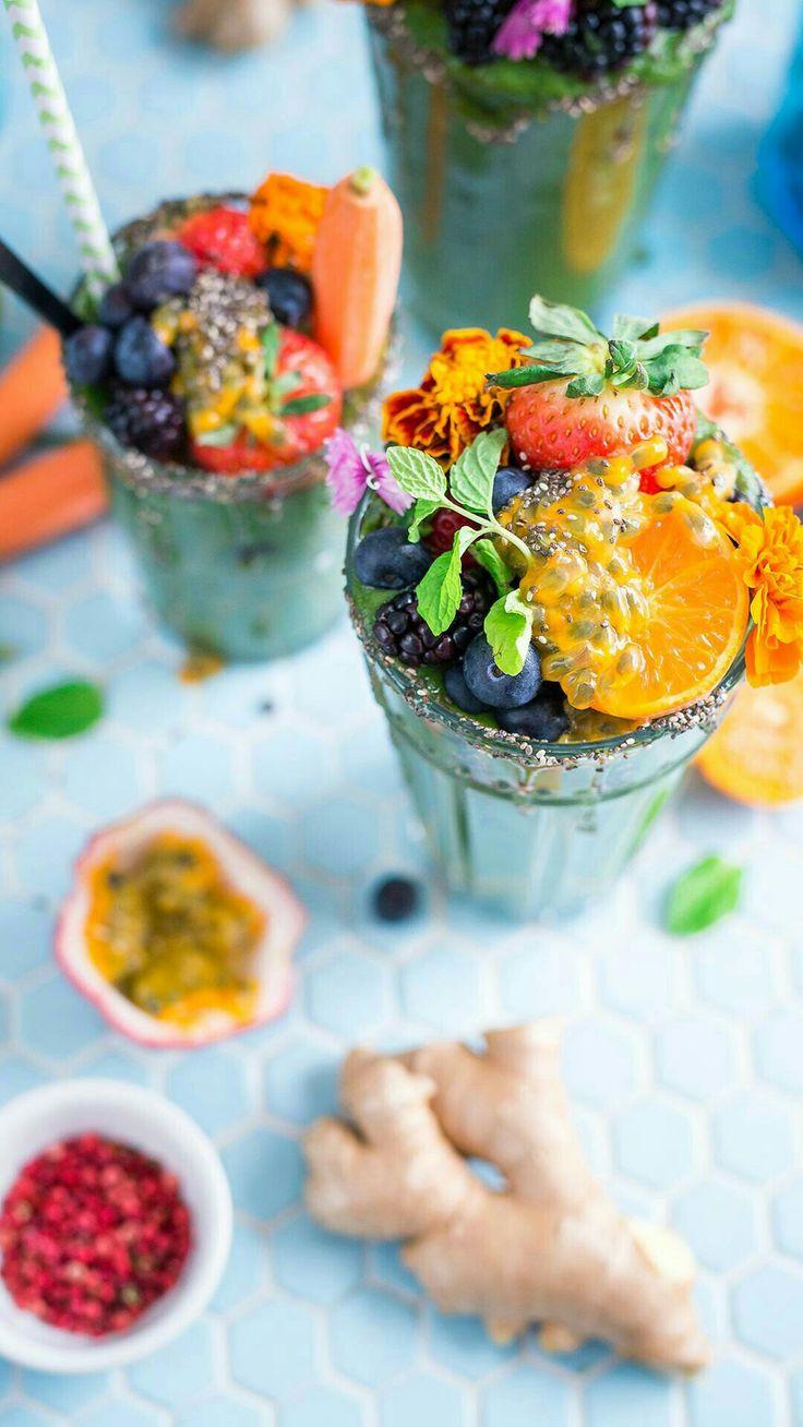 Ovocná bomba |ovocný pohár|