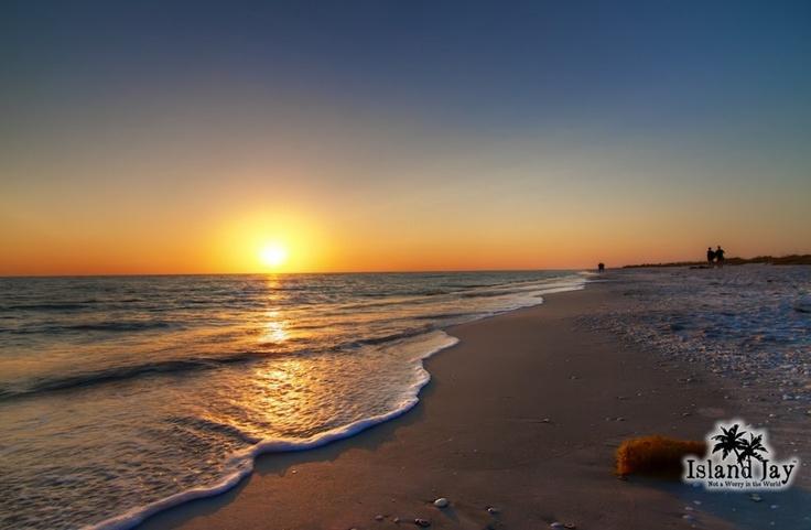 Sanibel Island Beach at Sunset