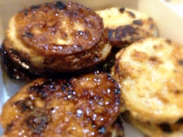 鶏挽肉だとつくねっぽい - 4件のもぐもぐ - れんこんはさみハンバーグ by moyu87