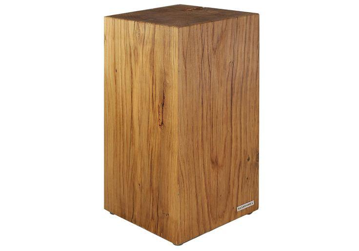Baumstammhocker aus Eichenholz, ein Stück Natur | NATUREHOME