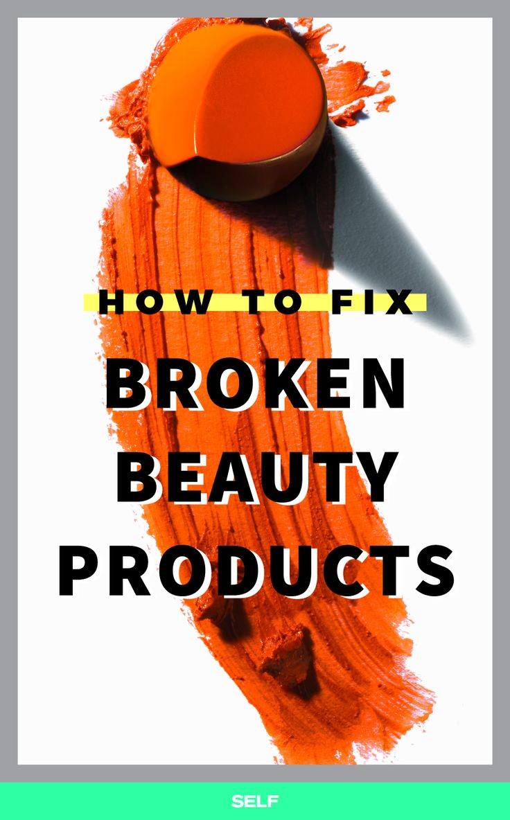 How To Fix Broken Lipsticks, Crushed Compacts, And More