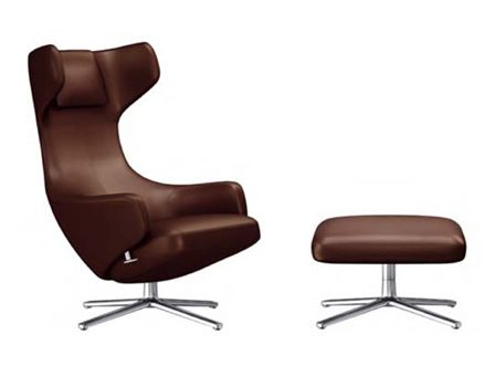 Vitra Grand Repos Lounge Chair (Leather)