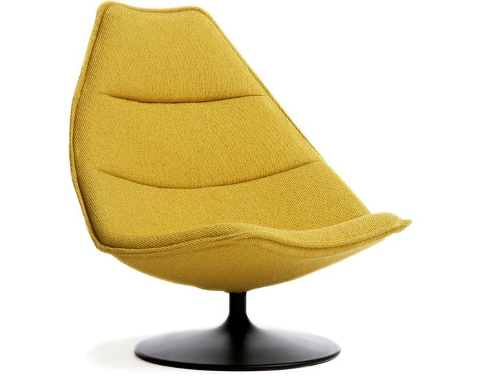 """F585 Lounge Chair by Geoffrey Harcourt for Artifort 38.5"""" h   38.5"""" w   seat: 14.2"""" h 3000+"""