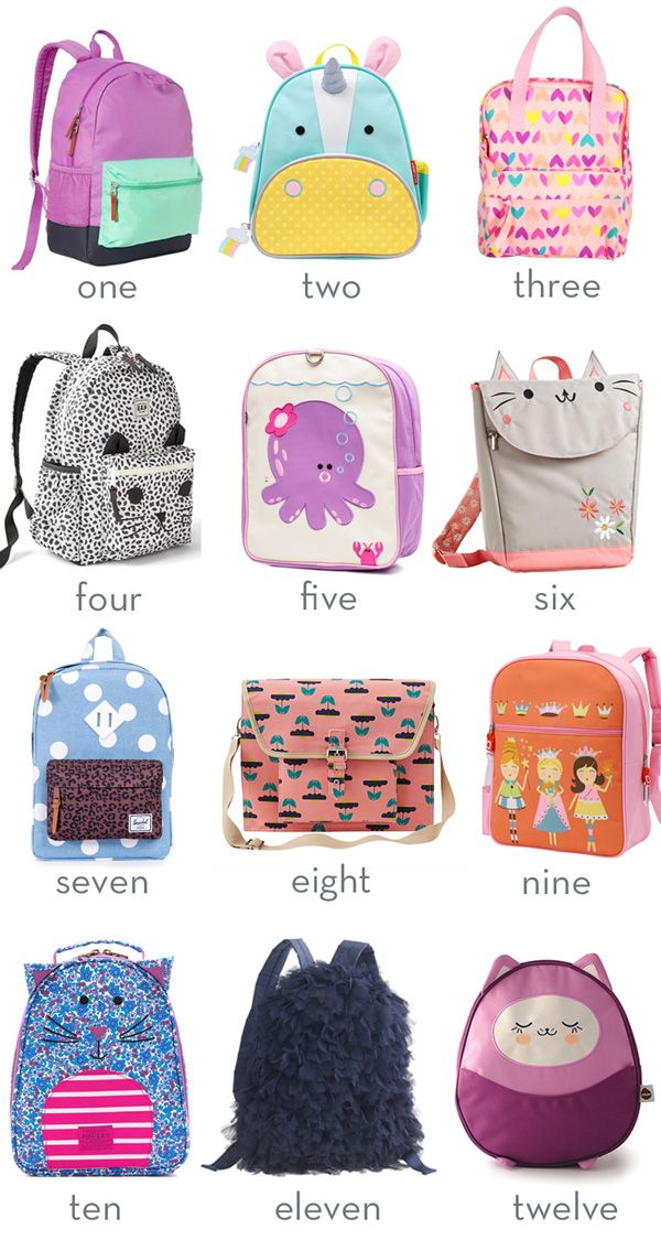 Little Style Backpacks For Kids Toddler Bags