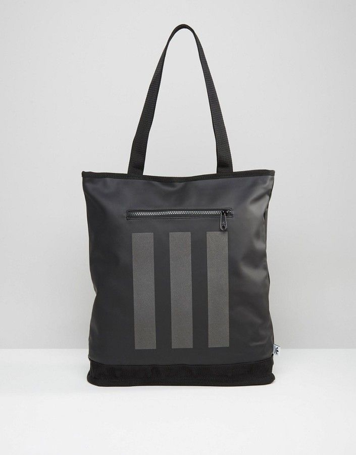 adidas Originals Tote Bag In Black AY8662