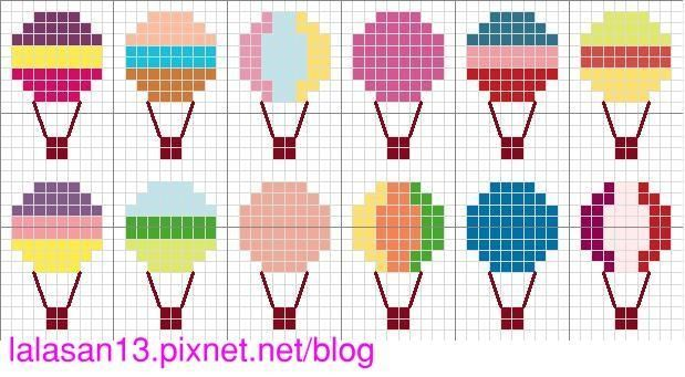 cross stitch - point de croix - free pattern @ lala手作 :: 痞客邦 PIXNET :::