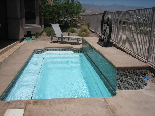 1000 images about pool designs on pinterest small yards for Small fiberglass pools