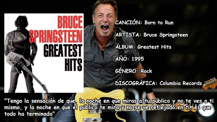 Born to Run Greatest Hits Bruce Springsteen