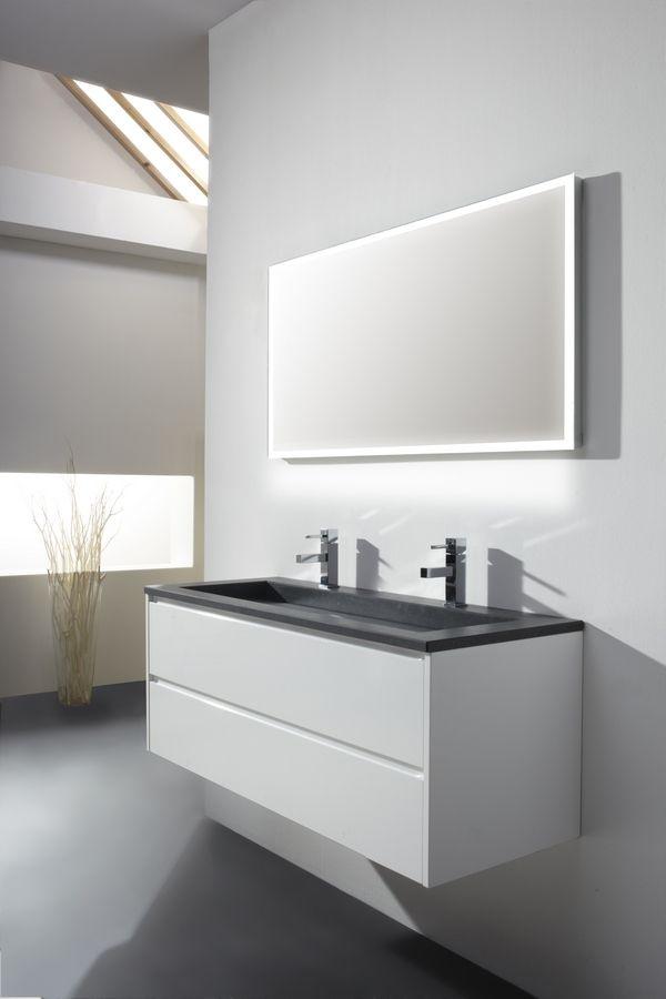 Badkamermeubel kopen doe inspiratie op bij de eerste kamer badkamer pinterest met and - Moderne badkamer meubels ...